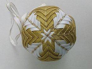 Dekorácie - Vianočná guľa - 10 cm - 8514461_
