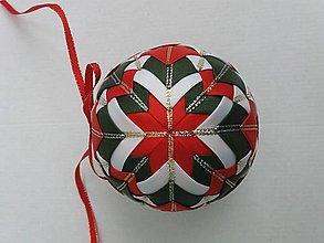 Dekorácie - Vianočná guľa - 10 cm - 8514493_