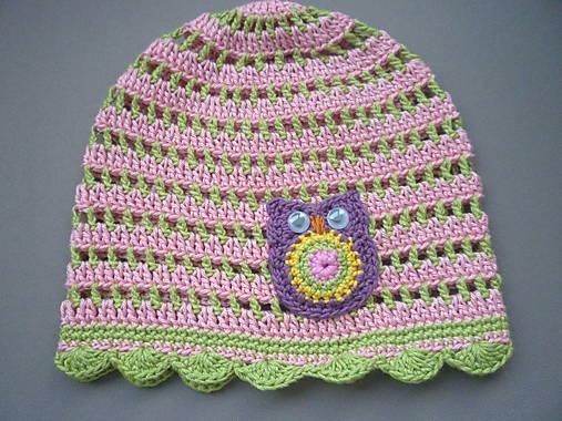1a2fbbeb6 Háčkovaná čiapka / Adlin - SAShE.sk - Handmade Detské čiapky