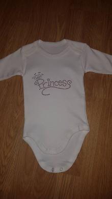 Detské oblečenie - Body princess - 8515623_