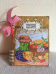 Papiernictvo - receptár na rodinné recepty - 8516240_