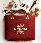 Veľké tašky - ľudová na notebook + drobnosti - 8515424_