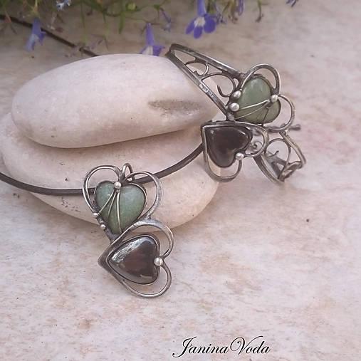 4737608f7 Elle et Lui.. náhrdelník / JaninaVoda - SAShE.sk - Handmade Náhrdelníky