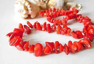 Sady šperkov - Koralový set - 8517086_