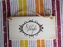 Tabuľky - Tabuľka VITAJTE - 8515881_