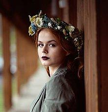 """Ozdoby do vlasov - Kvetinový venček """"Ryšavka"""" - 8514553_"""