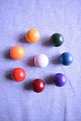 Textil - Bio bavlněný finerib ( patent ) GOTS – modrý melír - 8515171_
