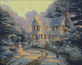 Návody a literatúra - M032 Vianoce - predloha na vyšívanie - 8515464_