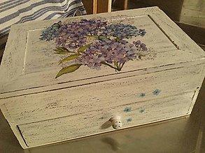 Krabičky - Šperkovnica so zrkadlom väčšia. - 8520255_