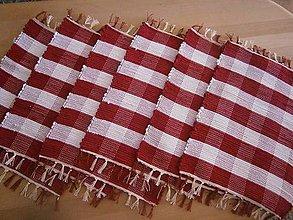 Úžitkový textil - tkane obrusky vidiecke - 8520601_
