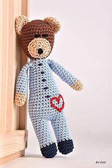 Hračky - v  modrom pyžamku - 8520271_