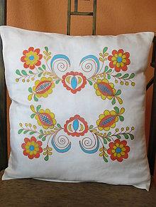 Úžitkový textil - Hovábny vankúšik Ornament I. - 8520733_