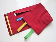 Taštičky - Rolovací peračník červený - 8519161_