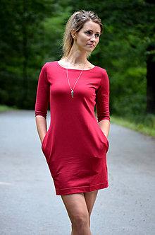 Šaty - Šaty s kapsami - vyberte si svou barvu!! - 8520365_