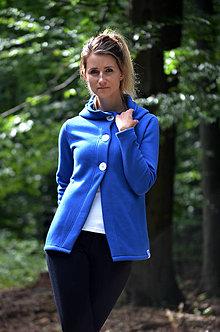 Mikiny - Cardigan v modré barvě - 8520389_