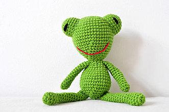 Hračky - Žabka Žofka - 8519118_