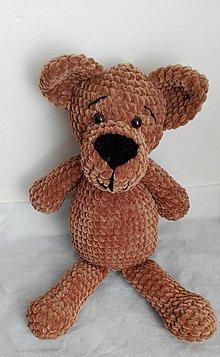 Návody a literatúra - Háčkovaný medveď - Návod - 8518224_