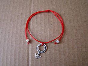 Náramky - Symbol mužnosti - pánsky náramok proti urieknutiu - 8518481_