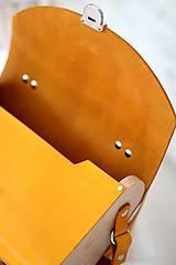 Kabelky - Kabelka na rameno SATCHEL BAG HONEY - 8518282_