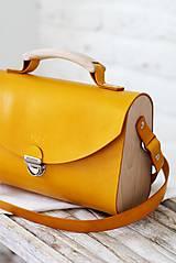 Kabelky - Kabelka na rameno SATCHEL BAG HONEY - 8518290_