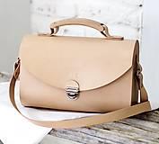 Kabelky - Kabelka na rameno SATCHEL BAG NATURAL - 8518404_