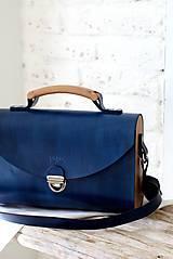 - Kabelka na rameno SATCHEL BAG ROYAL BLUE - 8518503_