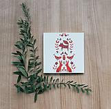 Papiernictvo - Leporelo 13x13 ,,Na čistinke pri lesíku,, - 8518216_