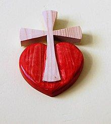 Socha - Predaný Kríž Božej lásky - 8519789_