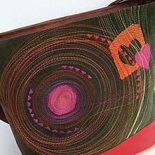"""Veľké tašky - Kabelka """"... O srdečnej ružovosti"""" - 8520590_"""