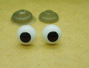 Galantéria - Očká na hračky 8mm - 8520441_