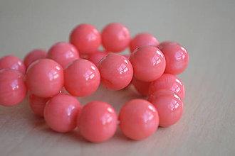 Minerály - Ružový koral 10mm, 0.89€/ks - 8518654_
