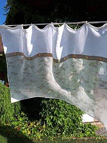 Úžitkový textil - Ľanová záclonka Children's Joy - 8520542_