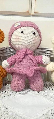 Bábiky - Háčkovaná bábika - 8523045_