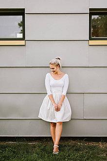 Sukne - Slavnostní zavinovací sukně třpytivá - 8521229_