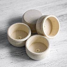 Polotovary - Adventné svietniky drevené - 8523346_