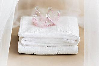 Textil - Pletená Deka ,,Classic Royal