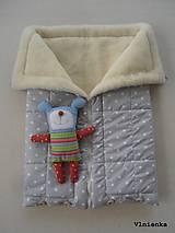 Textil - Deka DANIEL 2 v 1 100% merino Top Super wash BODKA pastelová piesková - 8522134_