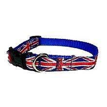 Pre zvieratká - Obojok Union Jack - 8521823_