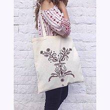 Nákupné tašky - Taška s ľudovým vzorom - 8524160_