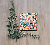 Papiernictvo - Leporelo 13x13 ,,Pestrofarebná jeseň,, - 8521676_
