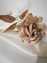 Dekorácie - Papierová ruža - 8521483_