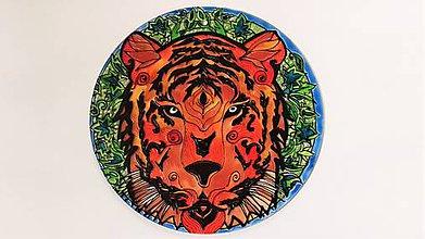 Obrazy - mandala Sila tigra - 8522125_