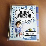 Papiernictvo - Ja som awesome ,,všetkozošit