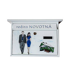 Darčeky pre svadobčanov - POŠTOVÁ SCHRÁNKA na želanie (POŠTOVÁ SCHRÁNKA 16) - 8524317_