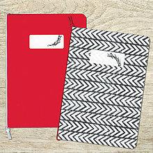 Papiernictvo - sada zošitov A5 - červená - 8526298_