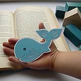 Papiernictvo - Veľrybka do knižky... - 8525445_