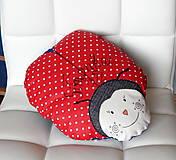 Textil - Detský vankúšik - Lienka - 8524490_