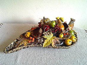 Dekorácie - jesenná dekorácia