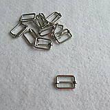 Galantéria - Prevliečna skracovacia spona 25 mm nikel - UŽŠIA - 8524189_