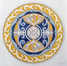 Dekorácie - Mandala Nirvána - 8525438_